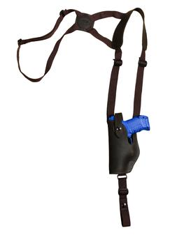 NEW Barsony Vertical Brown Leather Shoulder Holster Ruger Co