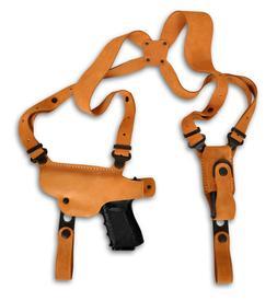 Nubuck Leather Shoulder Holster, Browning Black Label Com 19