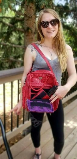 Purse/Shoulder or Backpack, Conceal Carry, Pistol Case/Purse
