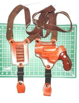 Tagua SH4-142 RH Leather Shoulder Holster w/ Loops Taurus Ju