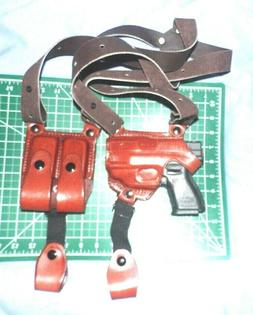 Tagua SH4-692 Full Slide Shoulder Holster, Springfield XDs w