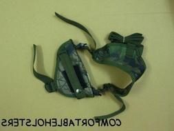 SHOULDER GUN HOLSTER, BERETTA CHEETA MODEL 84 , CAMO, LAW, S