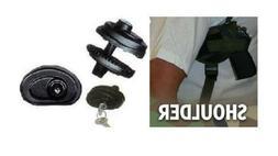 SHOULDER GUN HOLSTER, BERSA THUNDER 380, CAMO, W/ FREE TRIGG