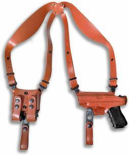 Shoulder Holster Double Mag Case For Ruger American 9mm Comp