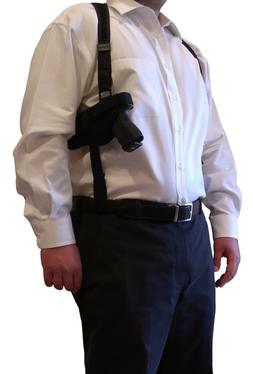 shoulder holster fits 1911 compact and full