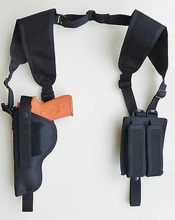 Shoulder Holster for Full Size S&W M&P 9, 40 & 45 DBL MAG PO