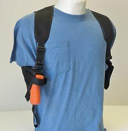 Shoulder Holster for GLOCK 43 Compact 9mm Pistol with Dbl Ma
