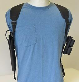 "SHOULDER HOLSTER for TAURUS 608 -627 6 1/2"" Barrel with Dbl"