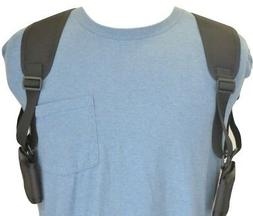 """Shoulder Holster For Two Cell Phones - PHONES UP TO 5 1/2"""" T"""