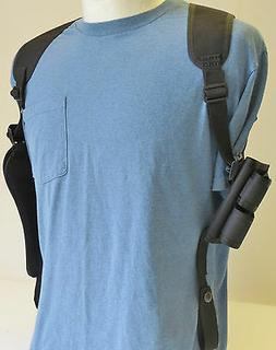 """TAURUS 6 1/2"""" Revolver 357 & 44 Mag Shoulder Holster with Am"""