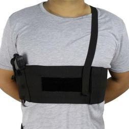 Tactical Elastic Concealed Carry Belly Band Waist Pistol Gun