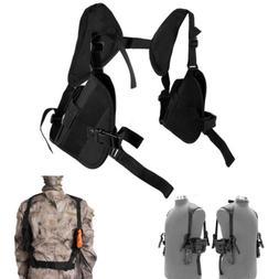 Tactical Left Right Hand Gun Pistol Under Arm Shoulder Doubl