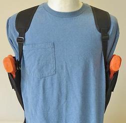 Two Gun Shoulder Holster for GLOCK 17, 20, 21 & 22  Vertical