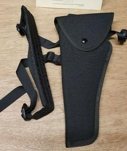 """Uncle Mike s Right Hand Bandolier Black Holster TC 10"""" Conte"""