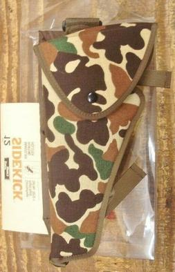 """Uncle Mike s Right Hand Bandolier Camo Holster TC 10"""" Conten"""