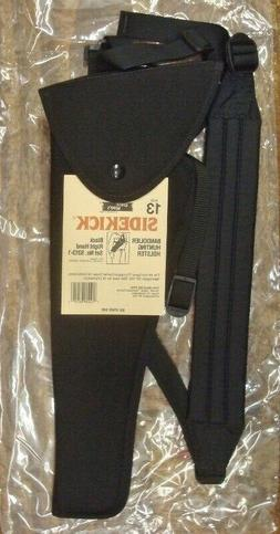 """Uncle Mike s Right Hand Bandolier Black Holster TC 14"""" Conte"""