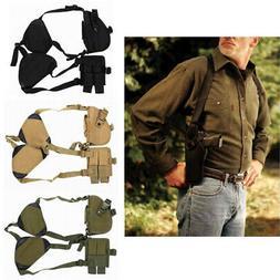 Universal Gun Armpit Holster Shoulder Pistol Holder with Dou