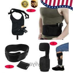 US Concealed Hidden Leg Ankle /Waist/Shoulder Holster for Pi