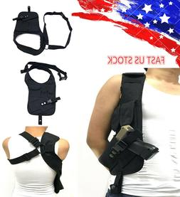 US Tactical Concealed Underarm Shoulder Holster Pouch Carry
