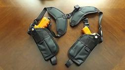 Vertical Double Holster Shoulder Rig HIGH HI- POINT JHP 45 a