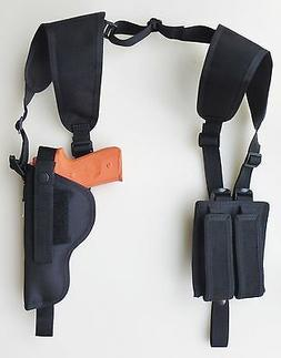 Vertical Shoulder Holster for Glock 17,22,31 with underbarre