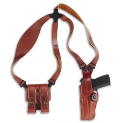 Galco Vertical Shoulder Holster System, Fits Glock 17/19, Am