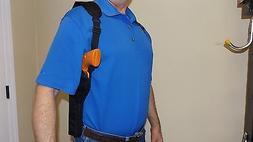 XL RIG / RIGHT HAND Vertical Shoulder Holster TAURUS TRACKER